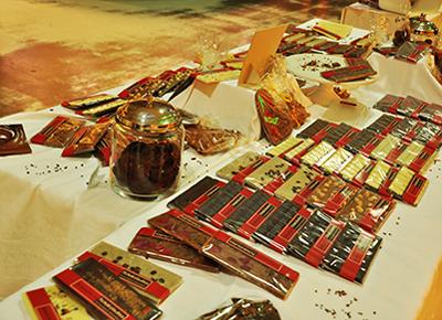 Schokolade Pralinenherstellung